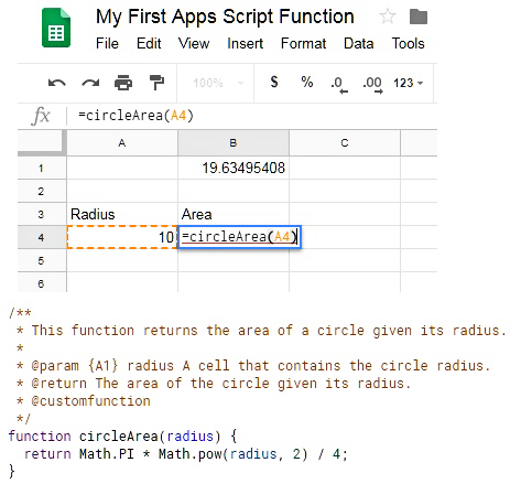 How To Create & Use A Custom Function In Google Sheets