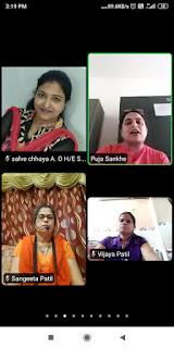 ऑनलाइन मराठी भाषा संवर्धन पखवाड़ा संपन्न  | #NayaSaberaNetwork