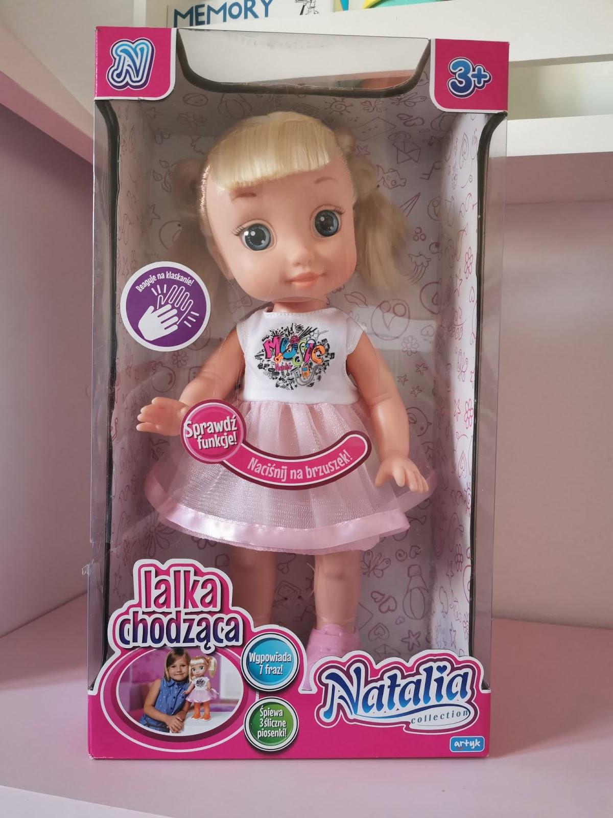 lalka chodząca