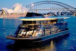 Aboard Starship on NYE in Sydney