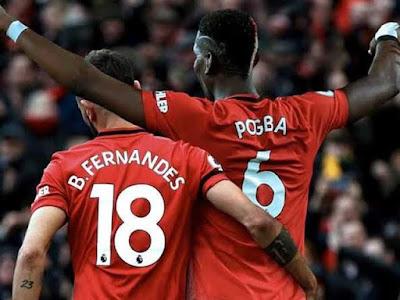 Pogba – Fernandes làm mê hoặc triệu fan MU trong lần đầu đá chính cùng nhau