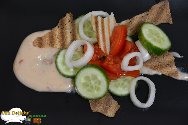 salad recipe with healthy salad dressing