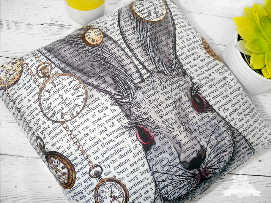 artboxone by pixum Kissen Folge dem Kaninchen