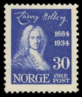 Norway 1934 30 Øre Ludvig Holberg