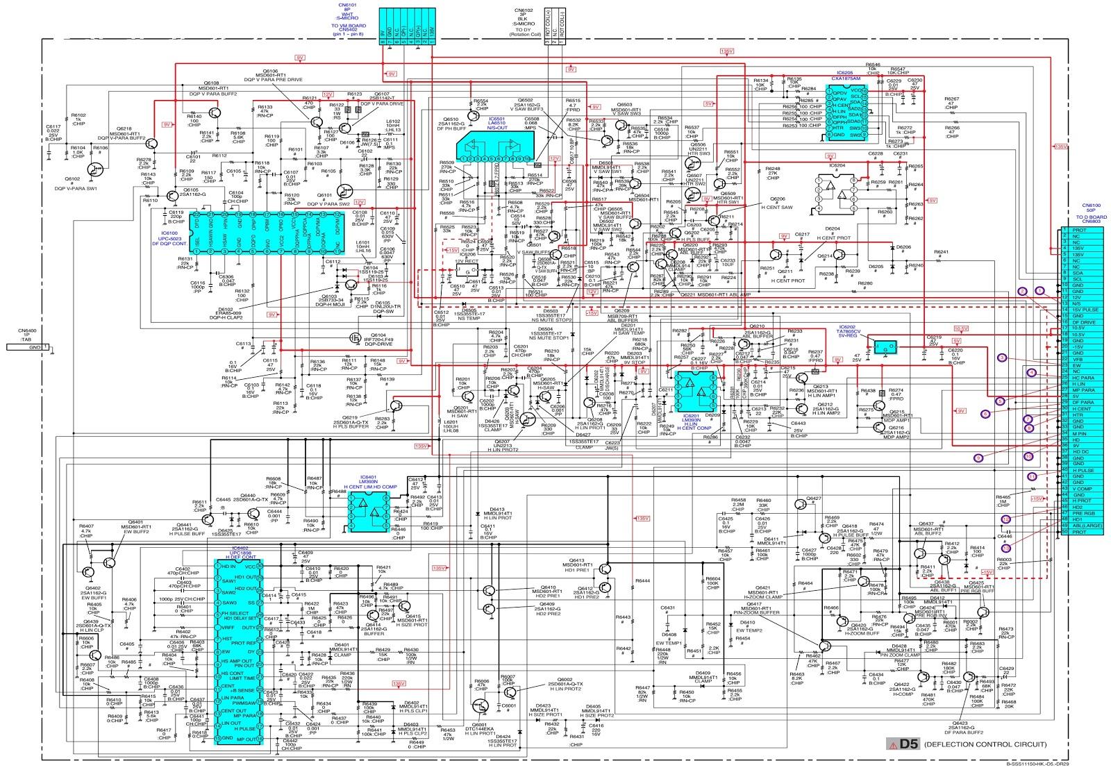 Electro Help  Sony Kv Dr29m93 Trinitron Color Tv  U2013 Service