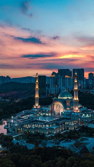 Foto mesjid wilayah persekutuan Malaysia