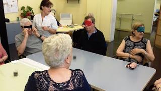 Sessió d'aromateràpia a l'Aviparc