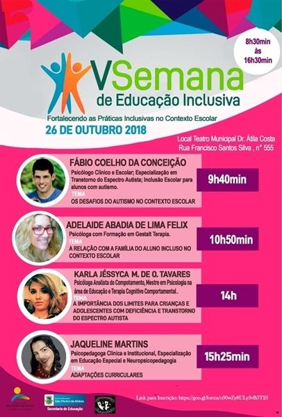 São Pedro da Aldeia realiza V Semana da Educação inclusiva
