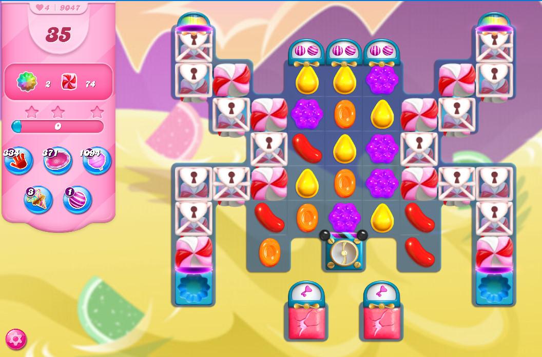 Candy Crush Saga level 9047