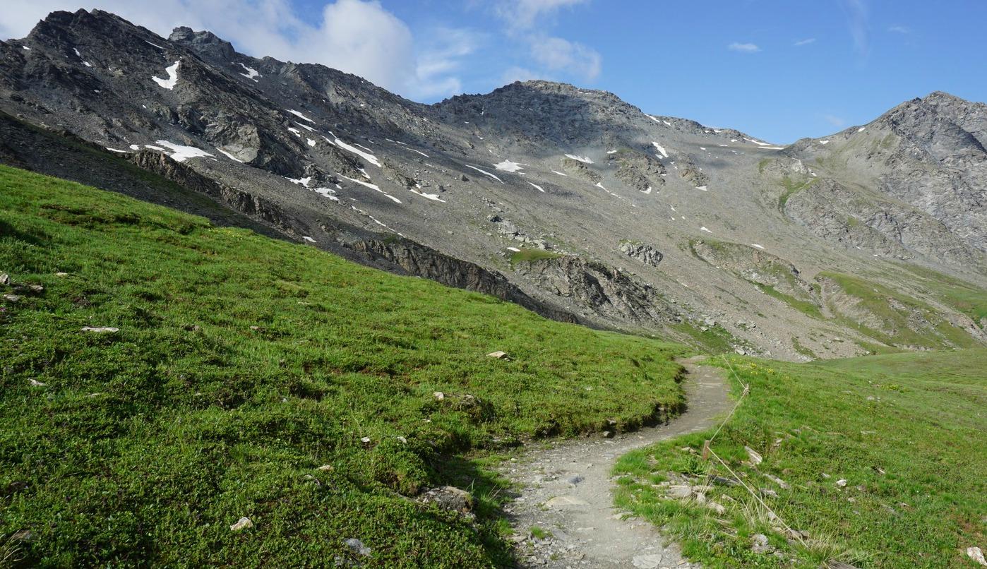 Nebbia trail near Col Agnel