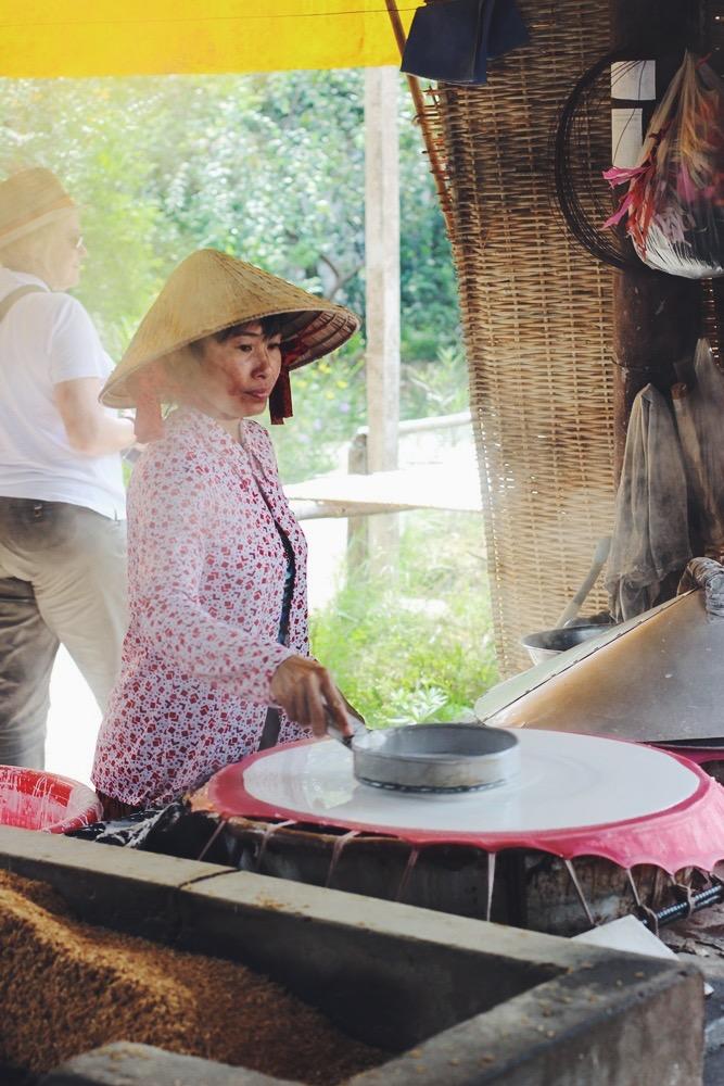 Mekong Delta: Reisnudeln + anderer Quatsch!