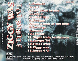 Ziggy Was - (1996) 3 Turns To 1_cd back
