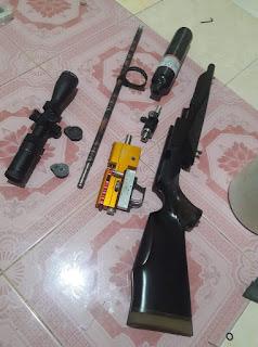 cara merakit senapan pcp bocap
