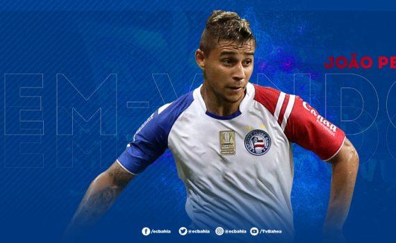 João Pedro é o novo reforço do Esporte Clube Bahia