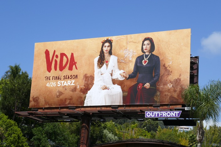 Vida final season billboard