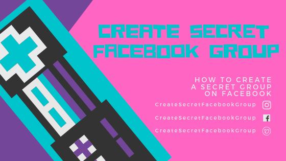 Secret Facebook Group<br/>