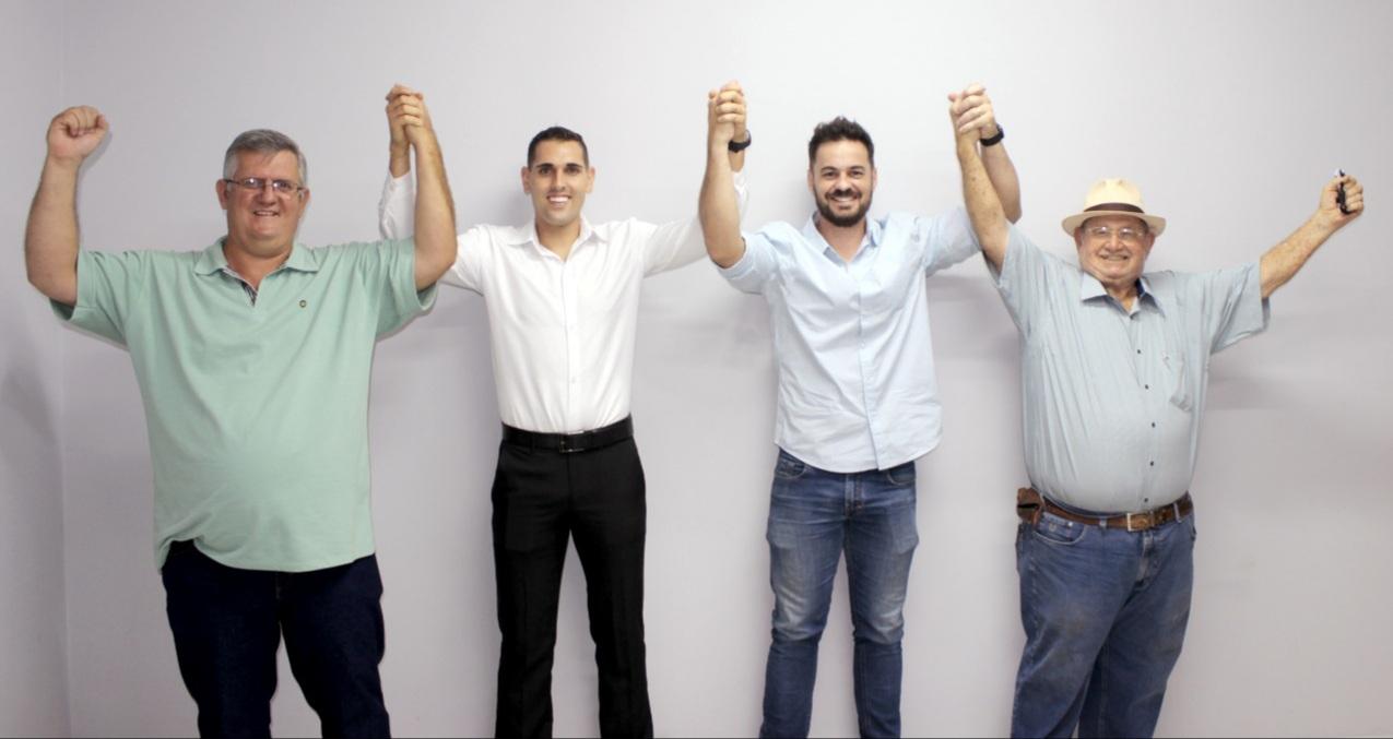 DEM, PTB e MDB lançam Gilberto Domingues Júnior como candidato a prefeito de Cajobi