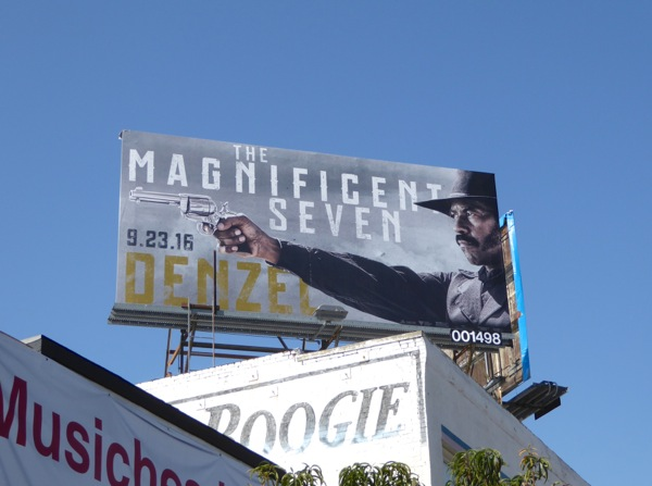 Magnificent Seven movie billboard