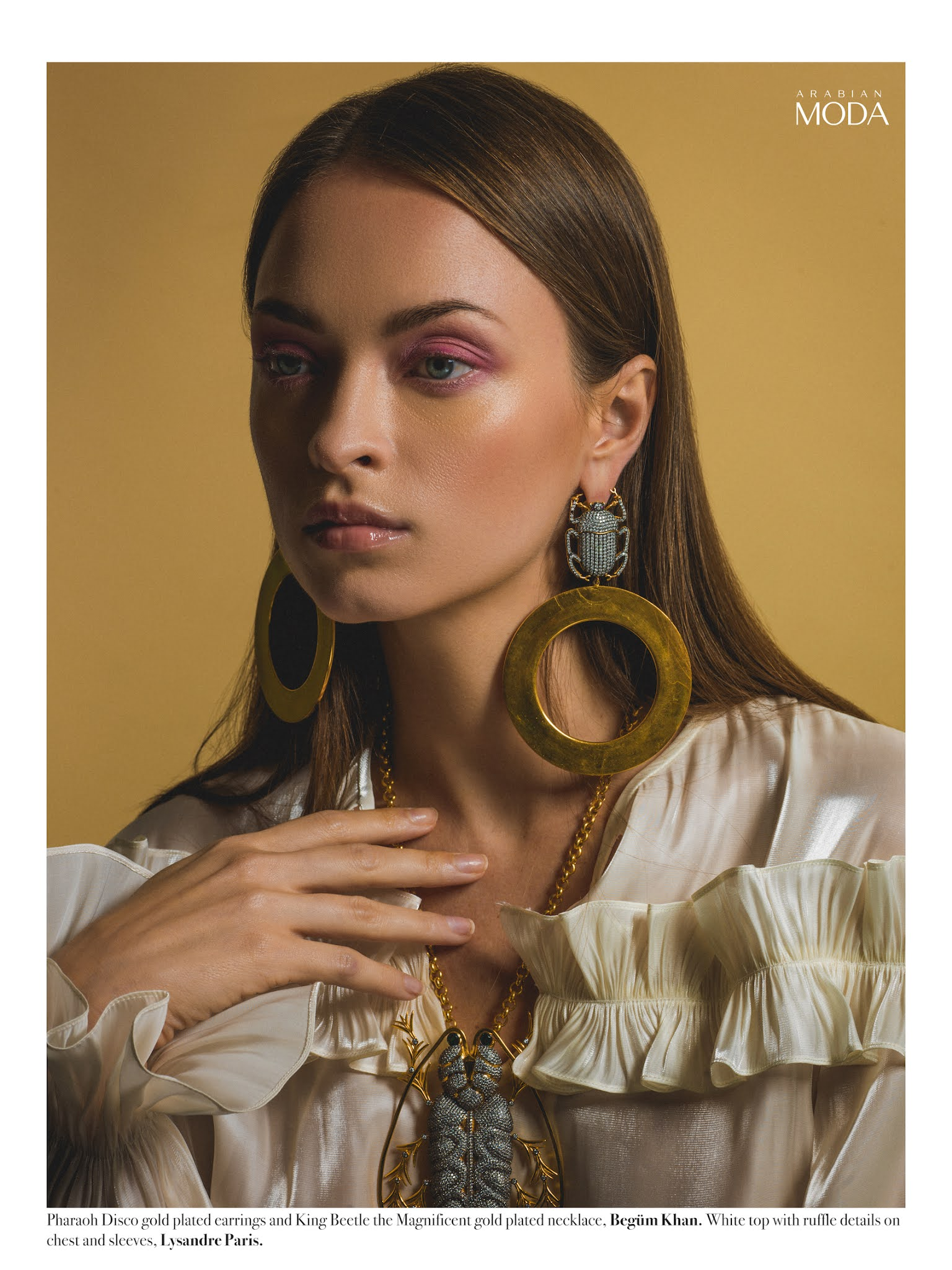 1- Arabian Moda x Lysandre Paris x Begüm Khan