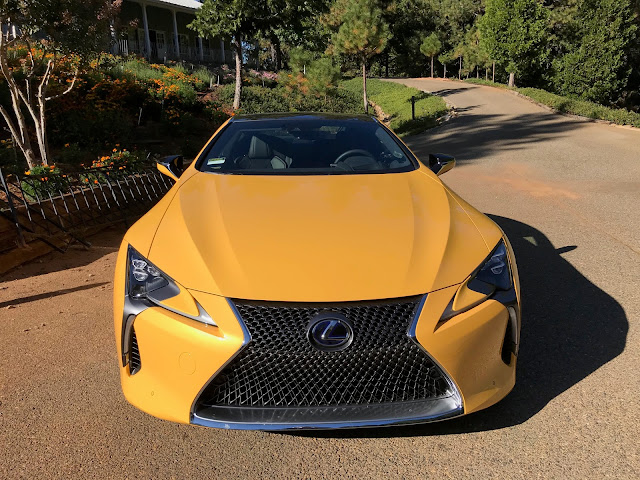 Front view of 2020 Lexus LC500h
