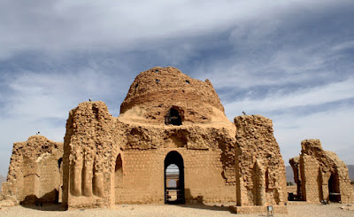 An Ancient Zoroastrian Fire Temple in Iran