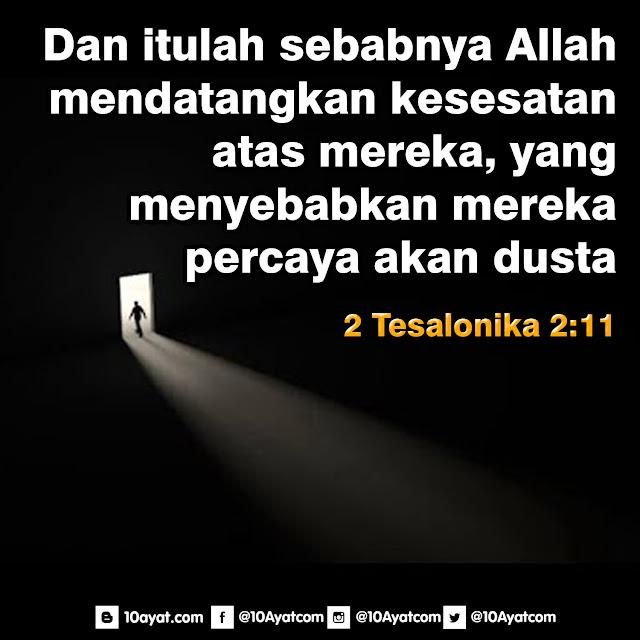 2 Tesalonika 2:11
