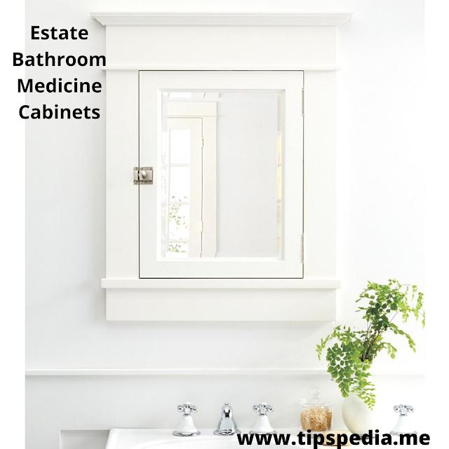 estate bathroom medicine cabinets