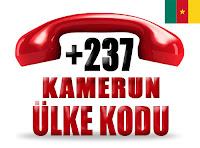 +237 Kamerun ülke telefon kodu