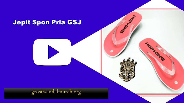 grosirsandalmurah.org - Sandal pria - Jepit Spon Pria GSJ