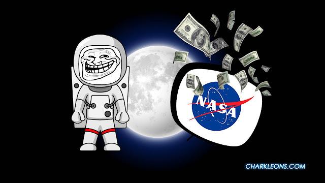 El hombre nunca fue a la luna | Charkleons.com