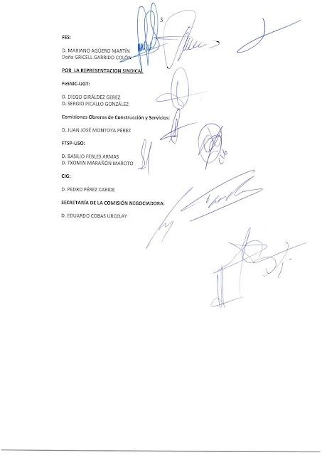 CC.OO. PROSEGUR MADRID: MODIFICACION CONVENIO COLECTIVO