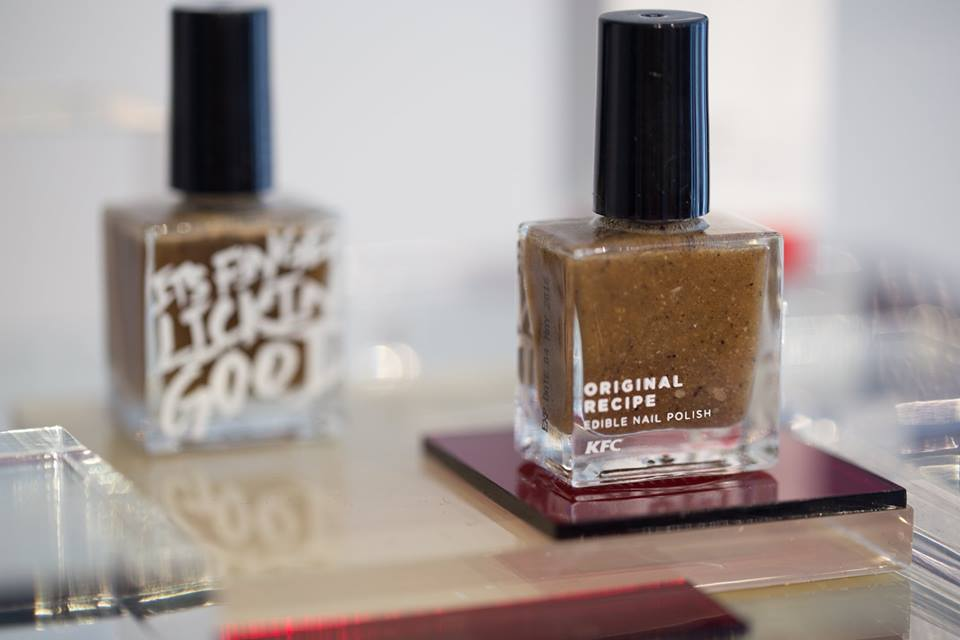 Valens... per voi: Curiosity: edible nail polishes for KFC in Hong ...