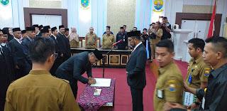 Pj Sekda Provinsi Jambi Melantik 45 Orang Pejabat Fungsional