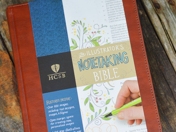 Journaling for the Nonartist: An HCSB Illustrator's Notetaking Bible Review