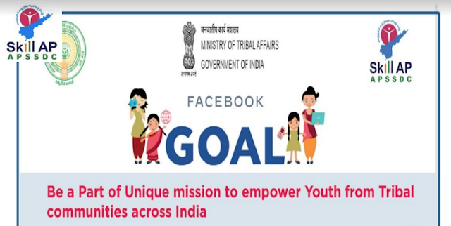 APSSDC-Facebook-Collaboration-on-tribal-youth-online-training--program-GOAL-Apply-online-apssdc.in APSSDC - Tribal Youth Online Training Programme on GOAL- Going Online as Leaders Apply Online www.apssdc.in GOAL – Going Online As Leader