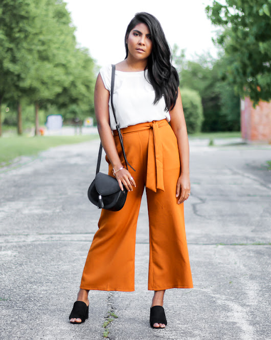 The color palette a lifestyle, fashion & beauty blog: Comfy as Stylish: The Gaucho Pants