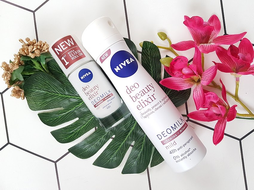 NIVEA deo beauty elixir mild roll-on