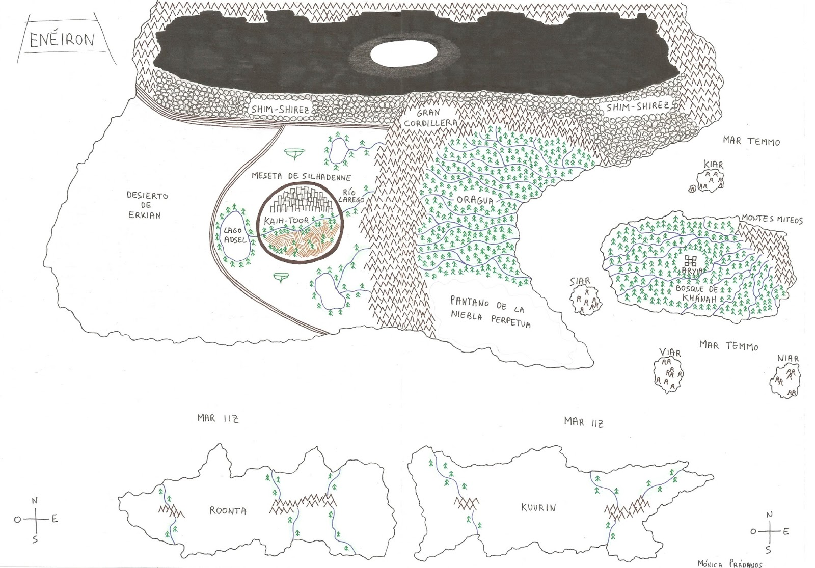 ... de Lianne en El secreto de la Guardiana. Pincha en el mapa para  agrandar y descargar (está hecho a mano por una servidora, así que no es  perfecto 😉).