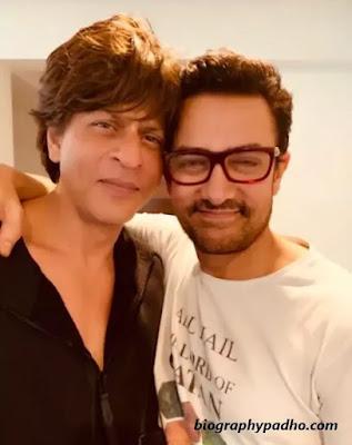 Shahrukh Khan With Aamir Khan