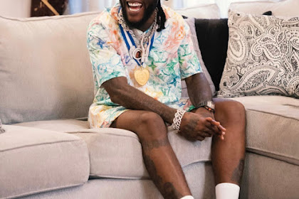 VIDEO : Burna Boy Wins BET Best International Act for the Third time In A Row