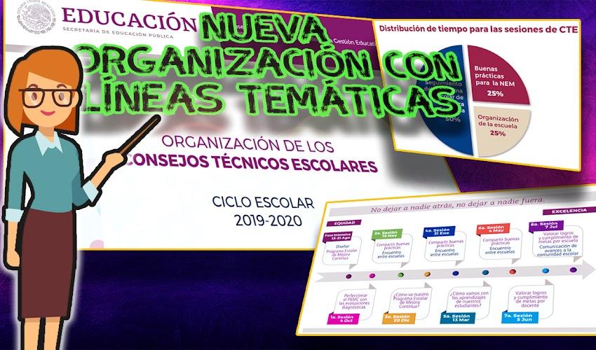 Nueva Organización de los Consejos Técnicos Escolares | 2019-2020