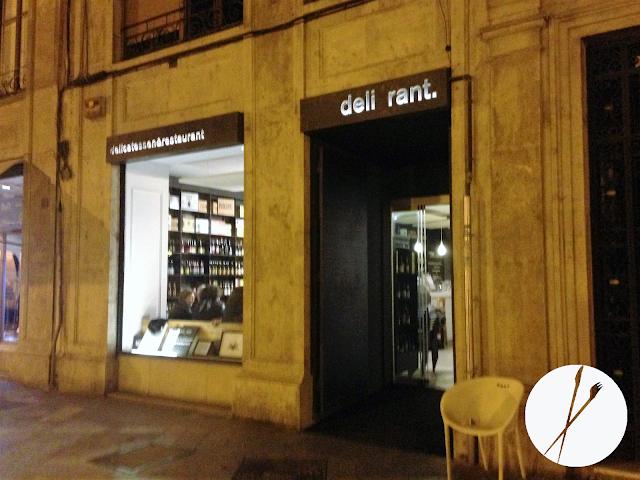 Facha del Restaurante Deli_rant