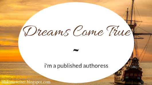 DREAMS COME TRUE // i'm a published authoress! + my story is ONLY FREE for today