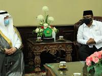 Dubes Arab Saudi Temui Menag Yaqut Bahas  Haji 2021