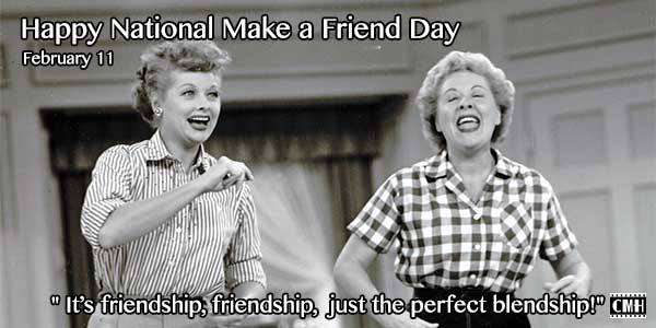 National Make a Friend Day Wishes for Whatsapp