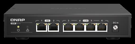 QNAP Lança Série QSW-2104 de Switches Não-Geridos
