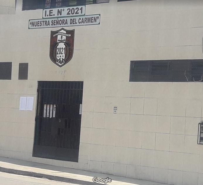 Escuela 2021 NUESTRA SEÑORA DEL CARMEN - San Martin de Porres