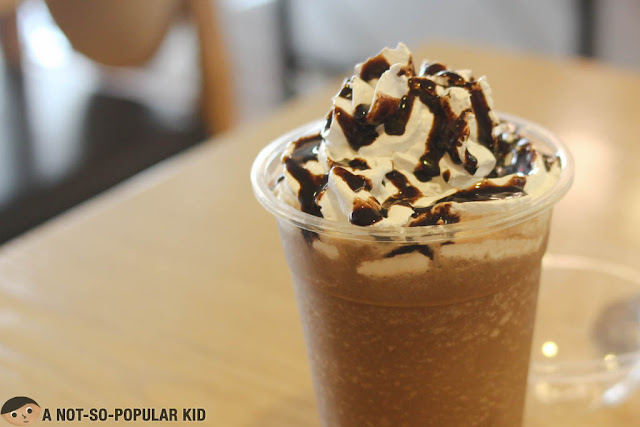 Iced Coffee with Whipped Cream - Cafe Seol Hwa