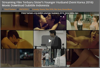 Film Semi Korea Sister's Younger Husband 2016