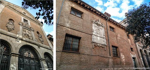 Local do sepultamento de Cervantes, Convento das Trinitárias Descalças, Bairro das Letras, Madri